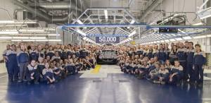 Maserati numero 50000 presso Avv_Giovanni_Agnelli_Plant