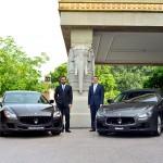 Maserati_rientro in India_da Sx a Dx _Umberto Cini & Bojan Jankulovski_2