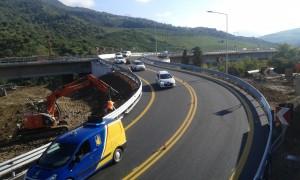 Bretella A19 viadotto Himera - apertura direzione Palermo